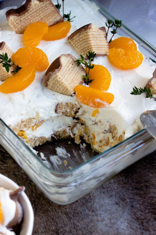 Baumkuchen-Dessert mit Orangen + Licor43 / Verlosung EMSA (Werbung) Foodblogger Adventskalender 8