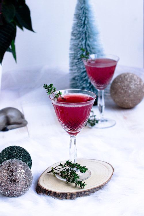 Weihnachtspunsch mit Thymian + Auslosung Cafissimo Gewinnspiel / Adventskalender Türchen 24 31