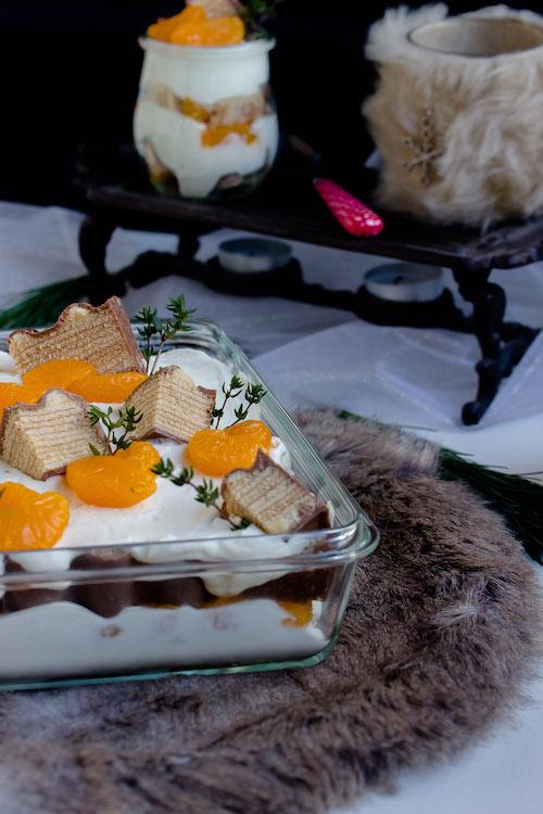 Baumkuchen-Dessert mit Orangen + Licor43 / Verlosung EMSA (Werbung) Foodblogger Adventskalender 5