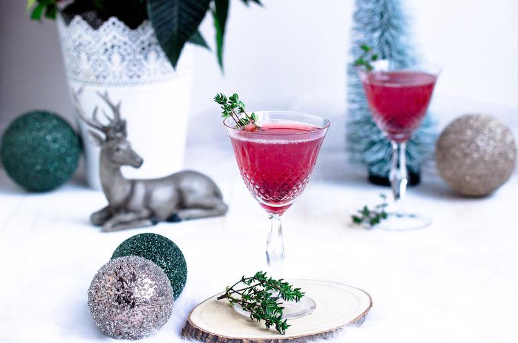 Weihnachtspunsch mit Thymian + Auslosung Cafissimo Gewinnspiel / Adventskalender Türchen 24 27