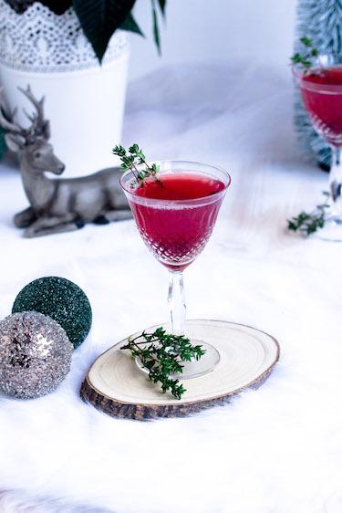 Weihnachtspunsch mit Thymian + Auslosung Cafissimo Gewinnspiel / Adventskalender Türchen 24 34
