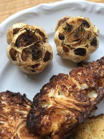 Pasta mit geröstetem Blumenkohl und Knoblauch-Zitronensauce - Pastaliebe im Januar 48