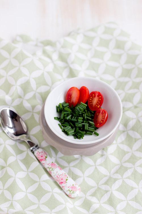 Gebackene Eier mit geschmorter Paprika und Feta / Mein Frühstücksglück 7
