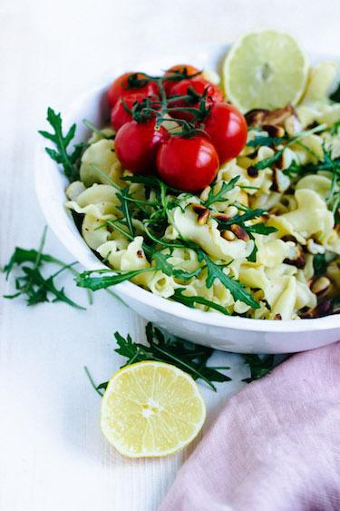 Pasta mit geröstetem Blumenkohl und Knoblauch-Zitronensauce - Pastaliebe im Januar 52