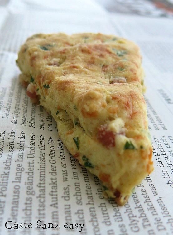 """Speck-Käse Scones und Zitrone-Mohn Scones /""""Mein Frühstücksglück"""" 2"""
