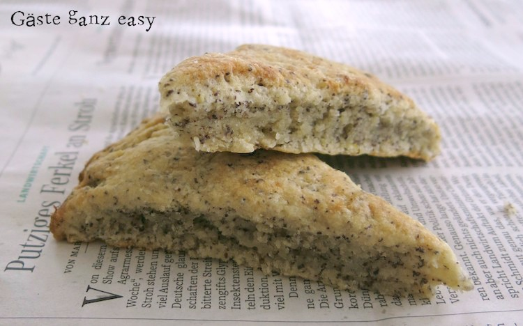 """Speck-Käse Scones und Zitrone-Mohn Scones /""""Mein Frühstücksglück"""" 1"""