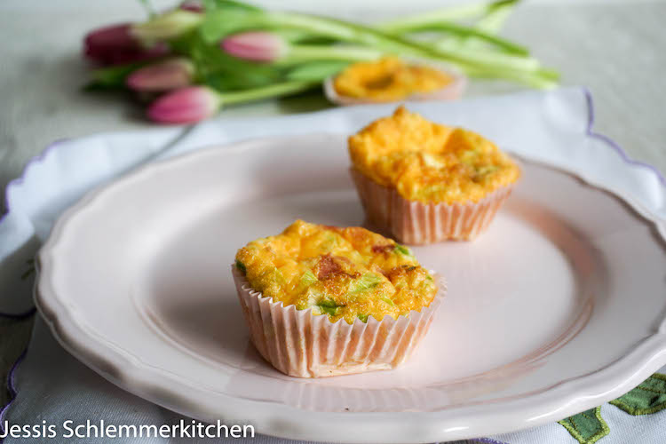 Omelett Muffins - Mein Frühstücksglück 1