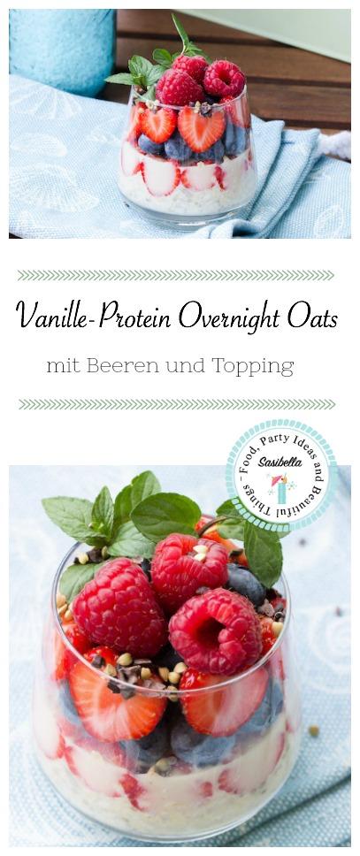 Vanille-Protein Overnight Oats
