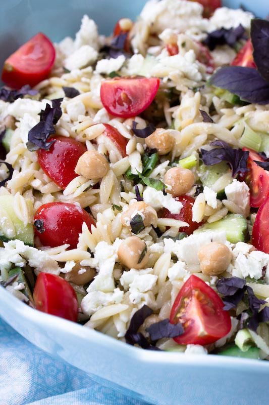 Rezept für Kritharaki Salat