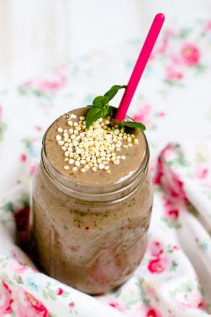 Schokoladen Smoothie /Mein Frühstücksglück