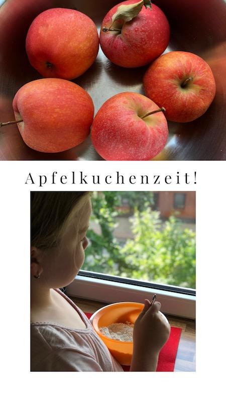 Apfelkuchen mit Schmand und warum wir jetzt kohlenhydratarm essen! 1