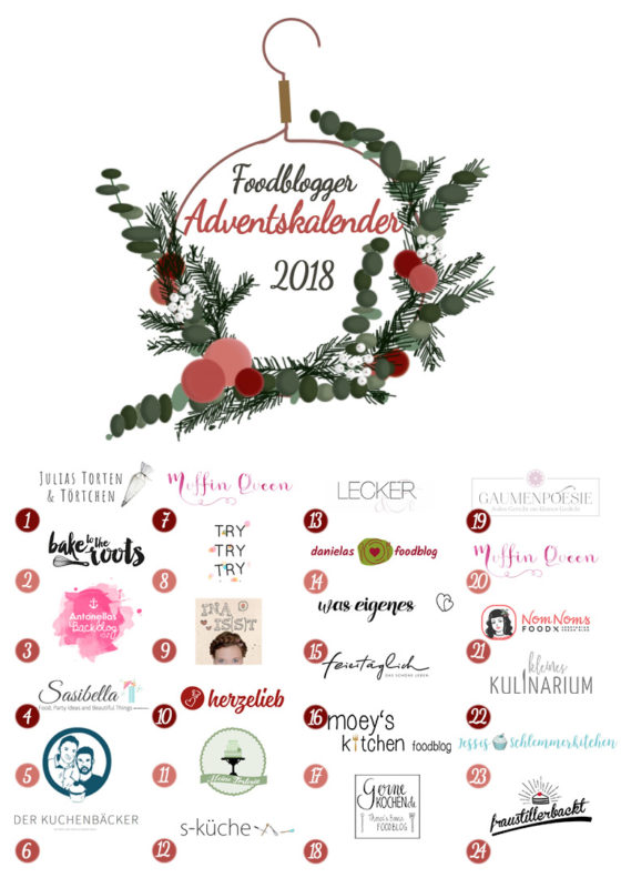 Foodblogger Adventskalender