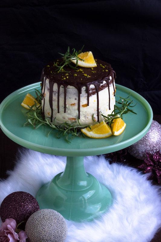 Torte mit Rosmarin