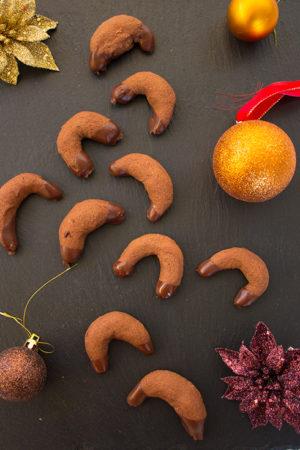Schokokipferl glutenfrei – backen zur Weihnachtszeit
