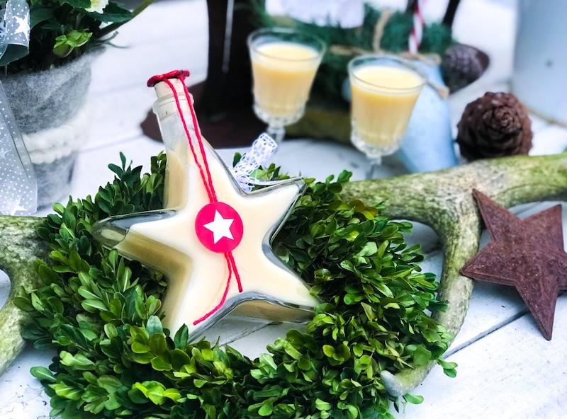 Rezept für weihnachtlichen Eierlikör