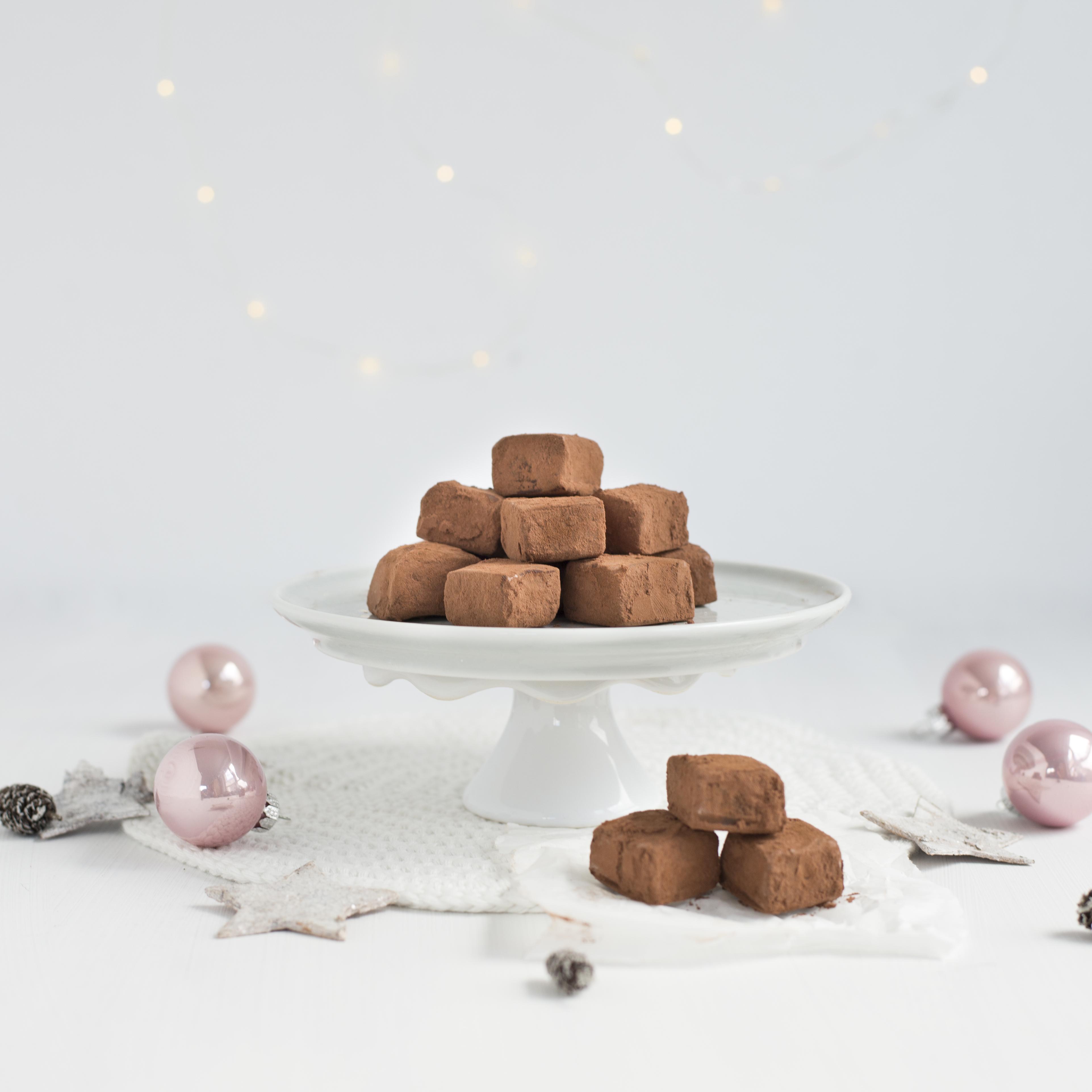 Zimtwürfel – einfache ,selbstgemachte weihnachtliche Pralinen