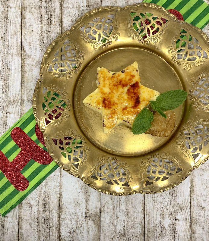 Ingwer-Kokos Crème brûlée