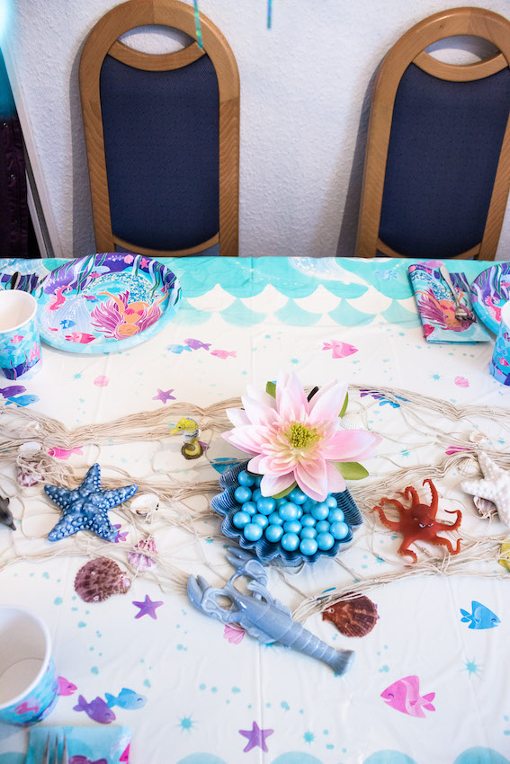 Meerjungfrau Kindergeburtstag- Deko,Spiele,Rezepte 13