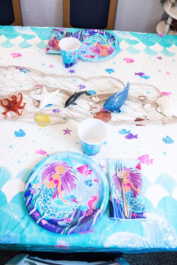 Meerjungfrau Kindergeburtstag- Deko,Spiele,Rezepte 14