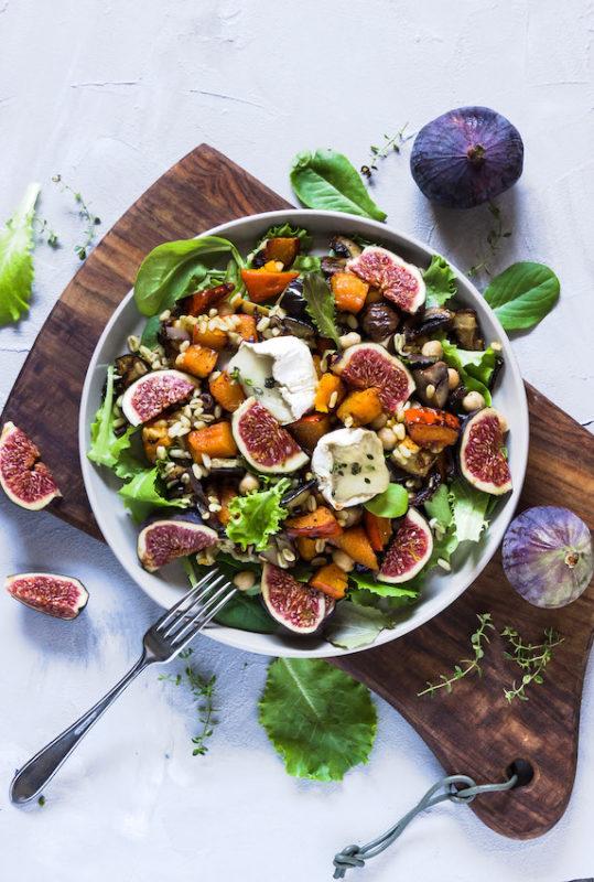 Ebly Salat mit herbstlichem Ofengemüse 4