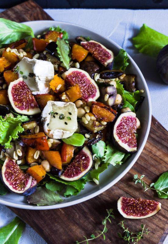 Ebly Salat mit herbstlichem Ofengemüse 3