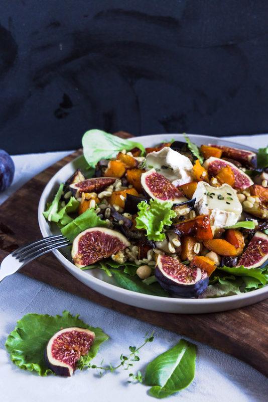Ebly Salat mit Ofengemüse