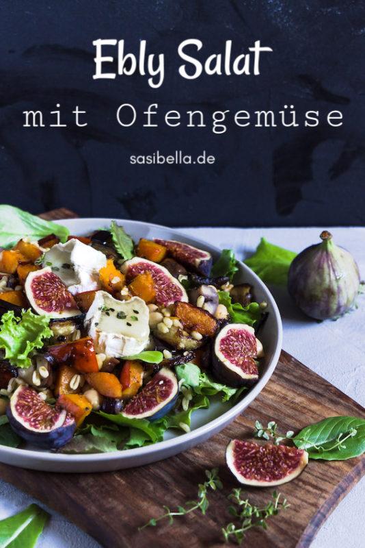 Ebly Salat mit herbstlichem Ofengemüse 5