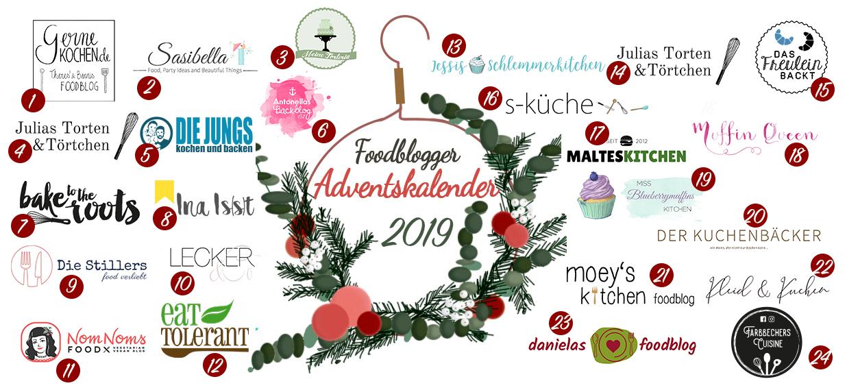 Schokoladen-Spekulatiustarte mit Glühweinkischen / 5. Foodblogger Adventskalender 8