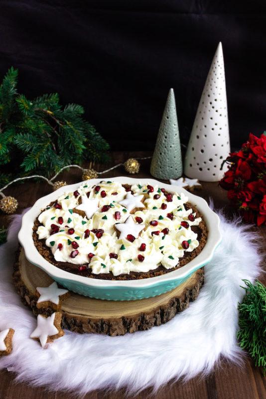 Schokoladen-Spekulatiustarte mit Glühweinkischen / 5. Foodblogger Adventskalender 7