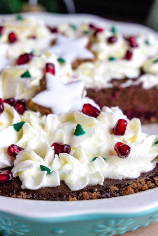 Schokoladen-Spekulatiustarte mit Glühweinkischen / 5. Foodblogger Adventskalender 6