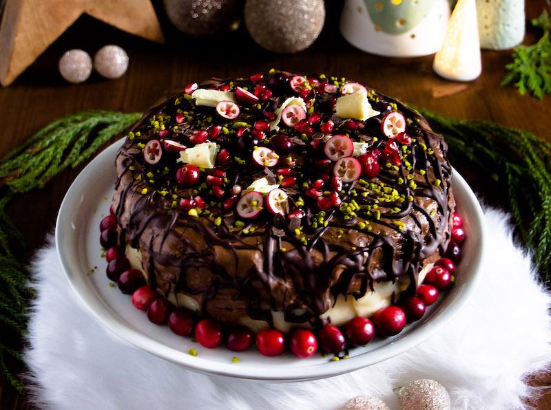 Torte zu Weihnachten