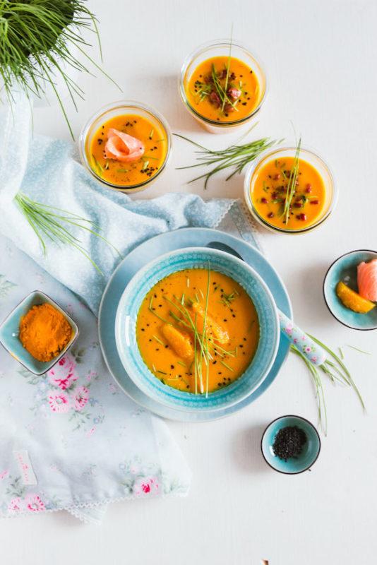 Möhren-Orangen Suppe